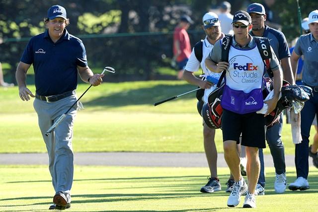 ミケルソンは1打差2位で発進(Stan Badz/PGA TOUR)
