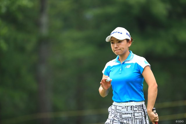 2018年 宮里藍 サントリーレディスオープンゴルフトーナメント 2日目 有村智恵 トップと4打差で決勝ラウンドへ!いよいよ来た感じだね
