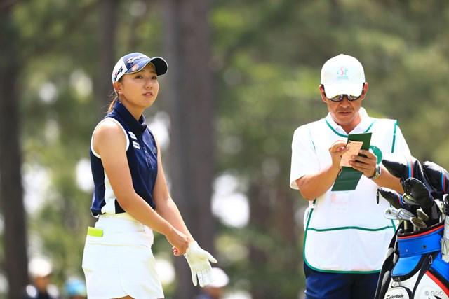 2018年 サントリーレディスオープンゴルフトーナメント 3日目 宮田成華 3日目を終えて5位につける宮田成華。上位フィニッシュのチャンス!