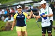 2018年 サントリーレディスオープンゴルフトーナメント 最終日 永井花奈