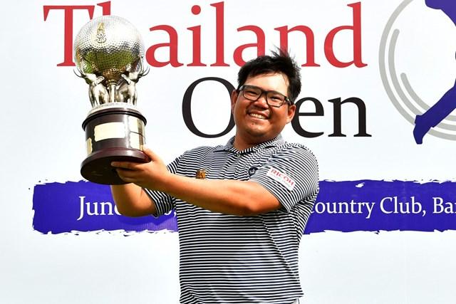 母国で今季初優勝を飾ったP.ピッタラヤット ※画像提供:アジアンツアー