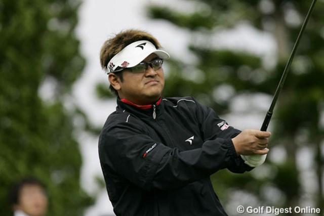 2006年 アジア・ジャパン沖縄オープン 3日目 宮里聖志 トップと2打差の3位タイにつけた宮里聖志(写真は初日のもの)