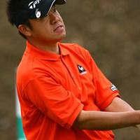 予選ラウンドをトップで通過した中川勝弥 2006年 東建ホームメイトカップ 2日目 中川勝弥