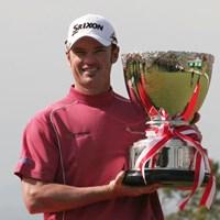 バーディ合戦を制しツアー初優勝を果たしたW.パースキー 2006年 東建ホームメイトカップ 最終日 ウェイン・パースキー