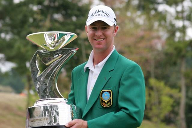 2004年大会以来2年ぶりの大会制覇を果たしたブレンダン・ジョーンズ