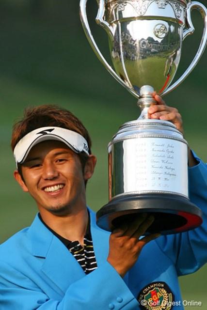 2006年 日本プロゴルフ選手権大会 最終日 近藤智弘 悲願の初優勝を国内のメジャーで果たした近藤智弘