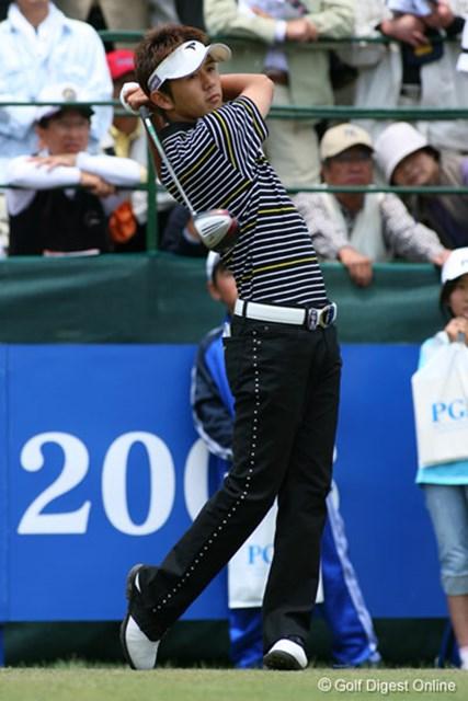 2006年 日本プロゴルフ選手権大会 最終日 近藤智弘 ベテラン友利勝良をプレーオフで下した近藤のスイング