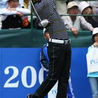 ベテラン友利勝良をプレーオフで下した近藤のスイング 2006年 日本プロゴルフ選手権大会 最終日 近藤智弘