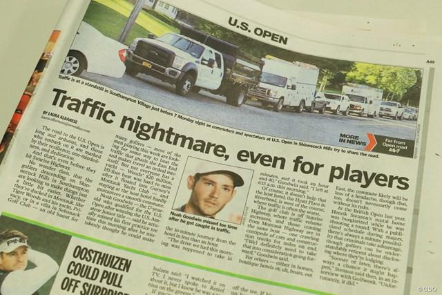 地元紙は「渋滞の悪夢」との見出しで紹介した