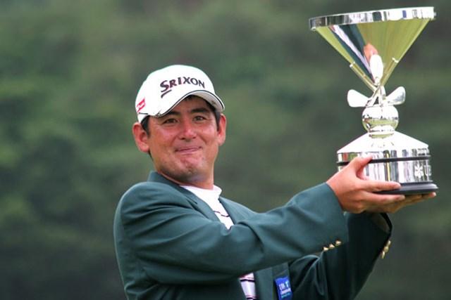 2006年 UBS日本ゴルフツアー選手権 宍戸ヒルズ 最終日 高橋竜彦 国内メジャーに勝ち、5年間のシード権を得た高橋竜彦