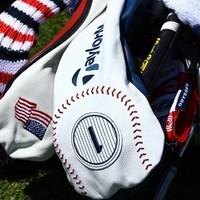 テーラーメイドは野球のボールをモチーフに選んだ 2018年 全米オープン 事前 テーラーメイドのヘッドカバー