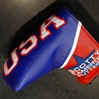 スコッティキャメロンはズバリ『USA』! 2018年 全米オープン 事前 スコッティキャメロンのパターカバー