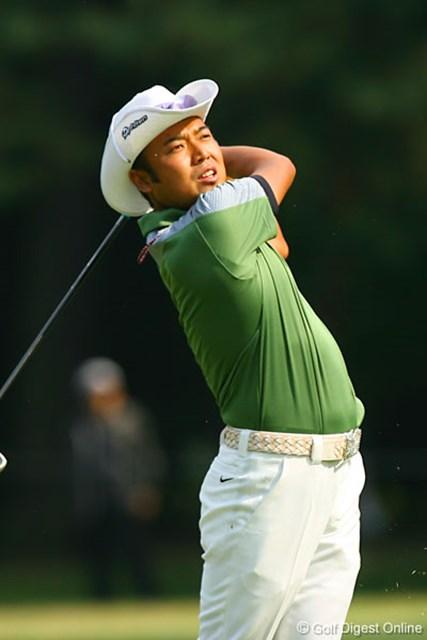 2006年 日本オープンゴルフ選手権競技 3日目 片山晋呉 ボギー先行で耐えるゴルフとなった片山だが、終盤持ち直し単独2位で最終日へ