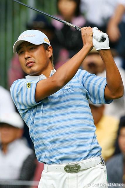 2006年 日本オープンゴルフ選手権競技 3日目 谷口拓也 ピンチもあったがバーディ攻勢で4アンダー3位タイに浮上した谷口拓也