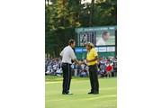 2006年 日本オープンゴルフ選手権競技 最終日 ポール・シーハン 片山晋呉