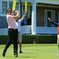 難しいこのコースで安定感あるゴルフでしたね。首位タイスタート! 2018年 全米オープン 初日 イアン・ポールター