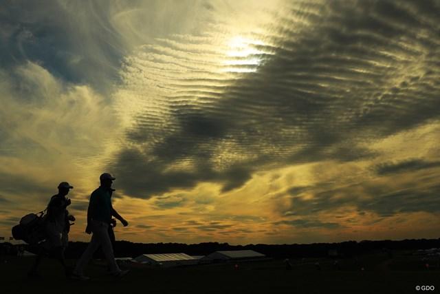不思議な雲。