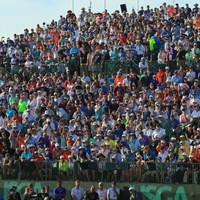こんな大観衆の前でアプローチするなんて…絶対ザックリやっちゃうな 2018年 全米オープン 最終日 ブルックス・ケプカ