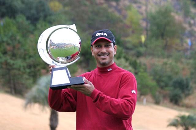 日本ツアー初優勝を果たしたインドのジーブ・ミルカ・シン
