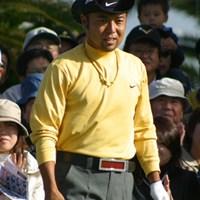 8アンダーで藤田寛之、J.M.シンと並び首位に浮上した片山晋呉※写真はカシオワールドオープン時 2006年 ゴルフ日本シリーズJTカップ 2日目 片山晋呉