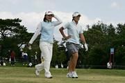 2006年 ダイキンオーキッドレディスゴルフトーナメント 初日 横峯さくら 諸見里しのぶ