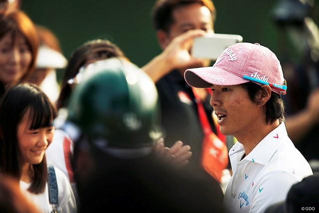 男子ツアーの選手会長・石川遼も宮里藍の結婚を祝福した