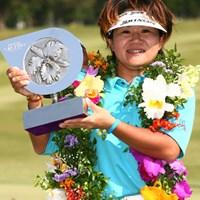 最終日にチャージをかけ見事初優勝を飾った西塚美希世 2006年 ダイキンオーキッドレディスゴルフトーナメント 最終日 西塚美希世