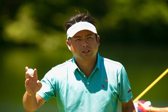 2018年 ダンロップ・スリクソン福島オープン 2日目 池田勇太 首位タイで決勝ラウンドに進んだ池田勇太