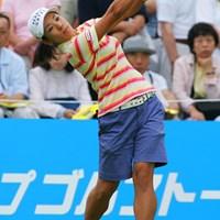 安定したプレーで通算10アンダーの2位に入った小俣奈三香 2006年 ベルーナレディースカップゴルフトーナメント 最終日 小俣奈三香