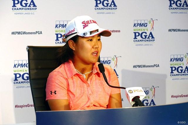 2018年 KPMG女子PGA選手権 最終日 畑岡奈紗 畑岡奈紗は惜敗を前向きにとらえた