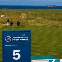 美しいリンクスコースが舞台となる今週のアイリッシュ・オープン(Oliver McVeigh/Sportsfile via Getty Images) アイリッシュ・オープン