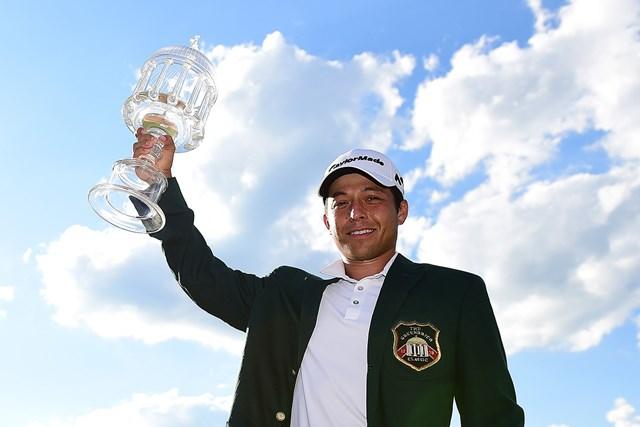 昨年はザンダー・シャウフェレがツアー初優勝を挙げた(Jared C. Tilton/Getty Images)
