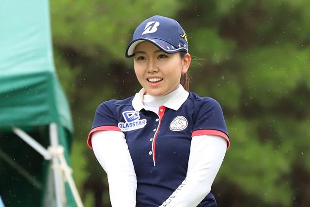 単独首位で発進した井上沙紀※日本女子プロゴルフ協会提供