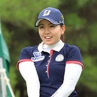 単独首位で発進した井上沙紀※日本女子プロゴルフ協会提供 2018年 ECCレディス ゴルフトーナメント 初日 井上沙紀