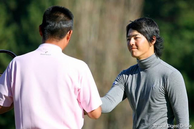 2日間続いた石川遼と池田勇太の競演。明日の3日目は別々の組でプレーとなる