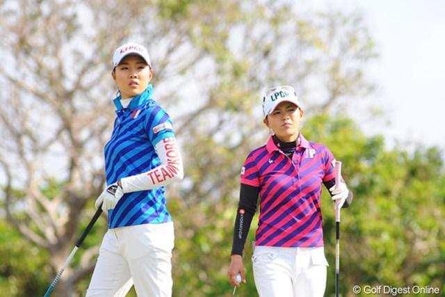 2009年 京楽日韓女子ゴルフ 事前 横峯さくら&ソ・ヒキョン 日韓女王対決は韓国に軍配!団体戦でも韓国が圧勝だ…
