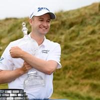ラッセル・ノックスがツアー2勝目を挙げた(Ross Kinnaird/Getty Images) 2018年 ドバイデューティーフリー アイルランドオープンbyロリーファウンデーション 最終日 ラッセル・ノックス