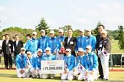 2009年 京楽日韓女子ゴルフ 初日 韓国チーム
