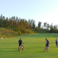 熱心なフィンランドのギャラリーたち ギャラリー/24時間ゴルフ