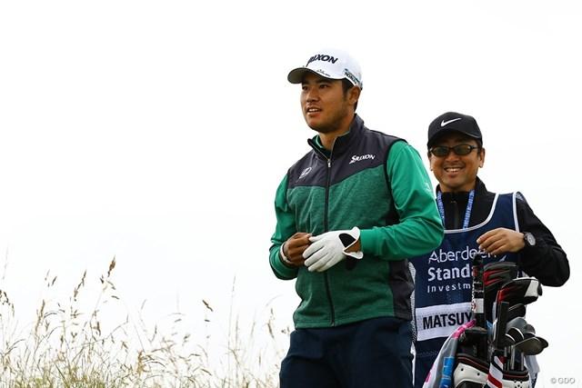 2018年 アバディーンスタンダードインベストメント スコットランドオープン 初日 松山英樹 松山英樹は終盤に巻き返してアンダーパーでスタートした