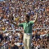 死闘を戦い抜いたトム・ワトソン(Stephen Green-Armytage/Sports Illustrated/Getty Images) 1977年 全英オープン 最終日 トム・ワトソン