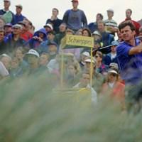 1992年大会を制したニック・ファルド(Stephen Munday/Getty Images) 1992年 全英オープン 最終日 ニック・ファルド