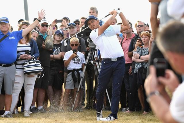 リッキー・ファウラーは好位置で最終ラウンドに進んだ(Harry How/Getty Images)