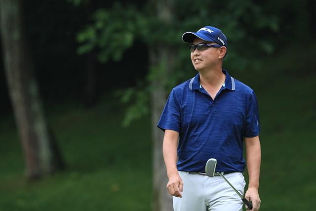 シニアデビュー戦を2位で終えた谷口徹 ※写真提供:日本ゴルフ協会