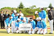 2009年 京楽日韓女子ゴルフ 最終日 李知姫