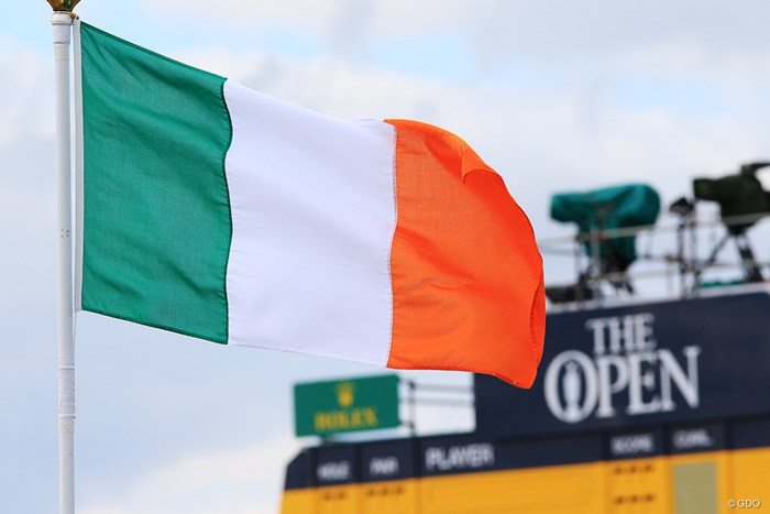 2007年大会で優勝したのはアイルランド出身のP.ハリントンだった 2018年 全英オープン 事前 アイルランド国旗