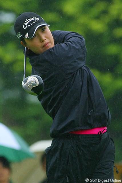 2006年 フィランソロピー・LPGAプレーヤーズ・チャンピオンシップ 2日目 全美貞 先日ツアー初勝利を飾り勢いに乗る全美貞が2位につけた