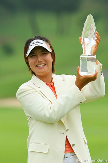 2006年 フィランソロピー・LPGAプレーヤーズ・チャンピオンシップ 最終日 全美貞 女子にとっては過酷な4日間競技を制した全美貞