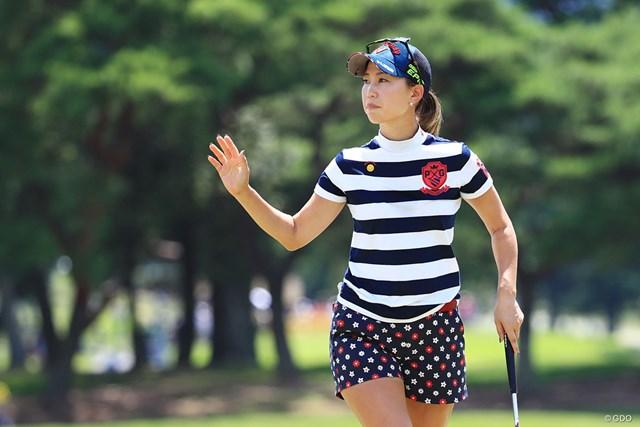 上田桃子は谷口徹の助言を生かして8位に浮上