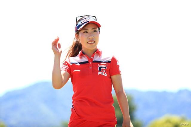 2018年 センチュリー21レディスゴルフトーナメント 最終日 木村彩子 木村彩子は2位でフィニッシュし1072万円を獲得